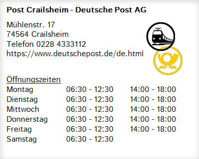 Deutsche Post Crailsheim
