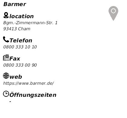 Barmer Cham