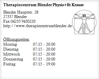 Physiofit krause blender